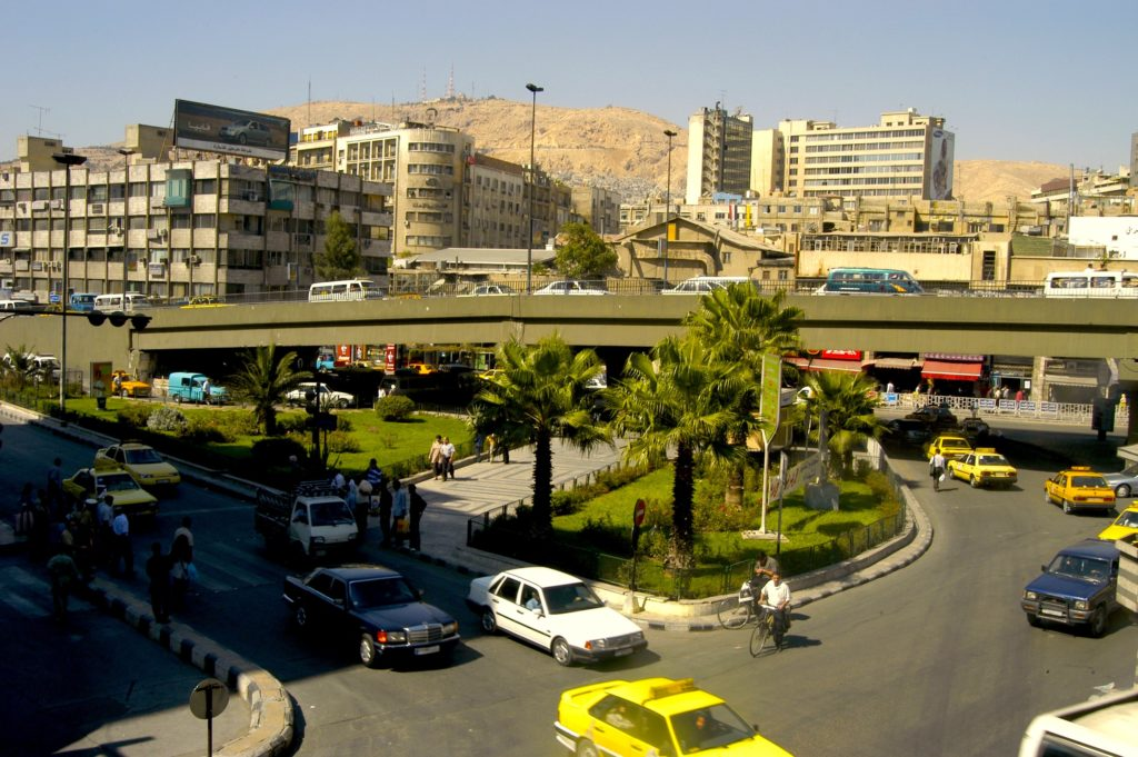 Damascus was a thriving city of five million people before the war. Photo by Karim Shamsi-Basha