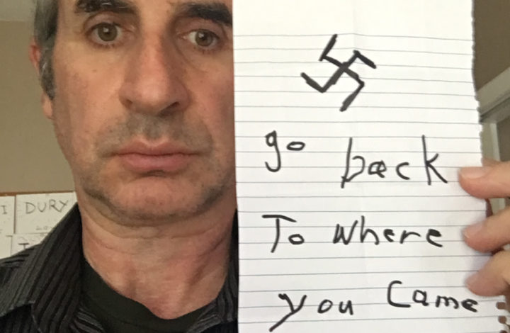 How I Responded to a Racist Note Left in my Gym Bag